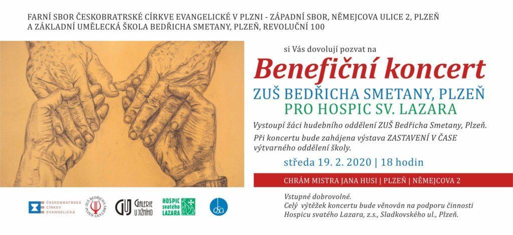 Benefiční koncert ZUŠ Bedřicha Smetany v Západním sboru ČCE v Plzni 1